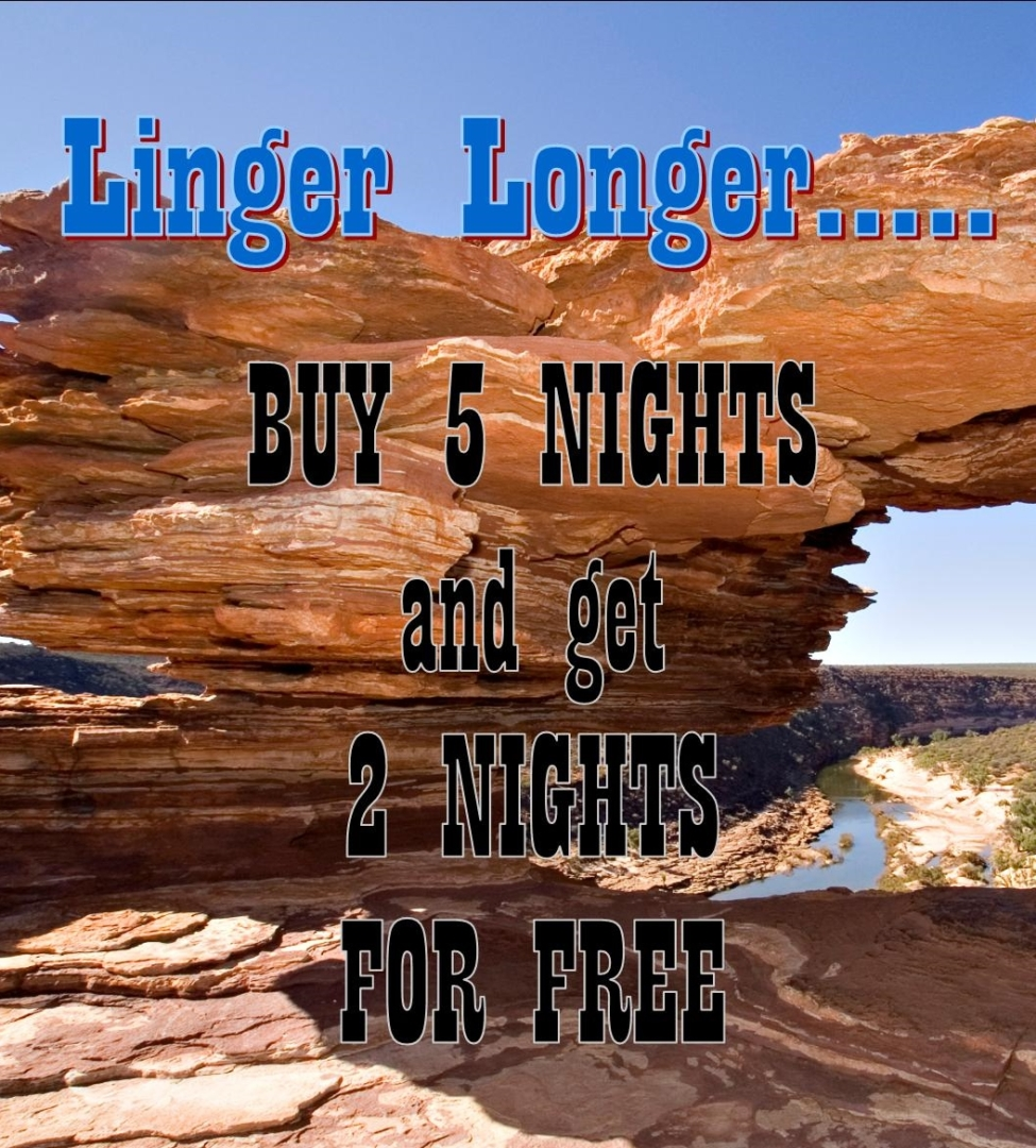 Buy 5 Nights and get 2 Nights for FREE!